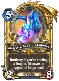 Malygos, Aspect of Magic(127294) Gold.png