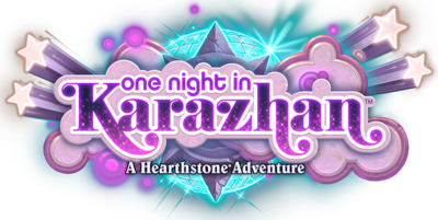 One Night in Karazhan logo full.png