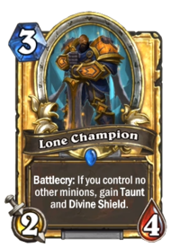 Champion Hearthstone