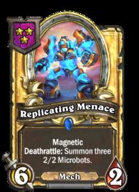 Replicating Menace (Battlegrounds, golden).png