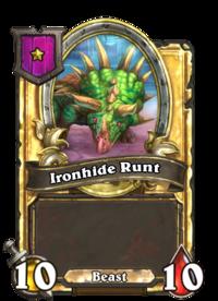 Ironhide Runt (Battlegrounds, golden).png