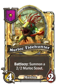 Murloc Tidehunter (Battlegrounds, golden).png