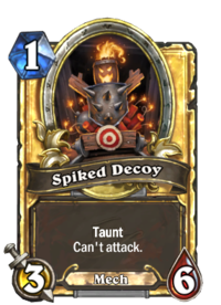 Spiked Decoy(27374) Gold.png