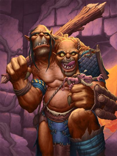 Hungry Ettin - Hearthstone Wiki