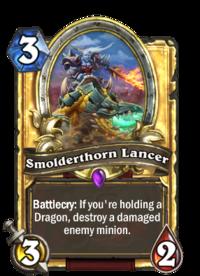 Smolderthorn Lancer(90183) Gold.png