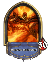 Ragnaros the Firelord (boss) Gold.png