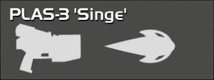 PLAS-3 Singe (pistol perk)