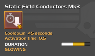 Fully upgraded Static Field Conductors