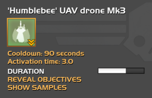 Fully upgraded Humblebee UAV drone