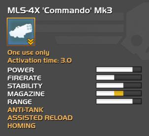 Fully upgraded MLS-4X Commando