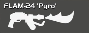 FLAM-24 Pyro (pistol Perk)