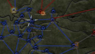 Ongoing battles near Paris