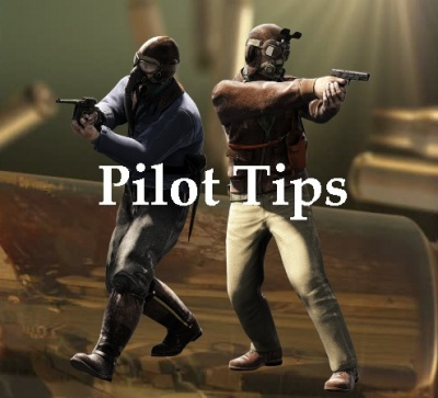 Pilot tips for playing the game!