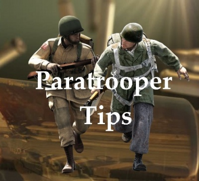 Paratrooper tips for playing the game!
