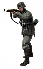 German Infantry rifleman