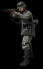 German Infantry rifleman