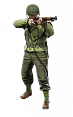 US Infantry rifleman