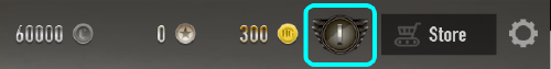 Player Level Button