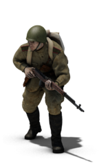 Soviet Infantry rifleman