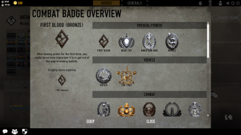 combat badge overview