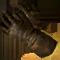 Solide lange Handschuhe