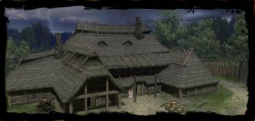 Gasthaus im Umland von Vizima