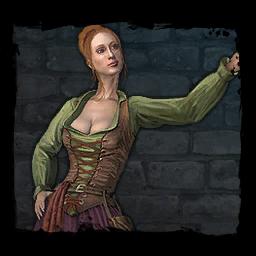 Eine Frau aus dem Umland