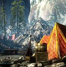 Das Lager des Ordens der Flammenrose