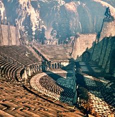 Das Amphitheater von Loc Muinne