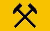Emblem der Mahakam Eisen und Stahl Zunft