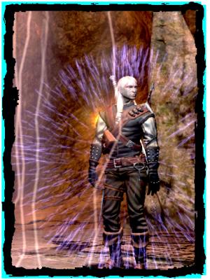Geralt verwendet Alzurs Schild