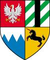 Altes Wappen von Kovir und Poviss Wappen (Variante 1)