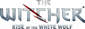 "Logo der Modifikation ""The Witcher: Rise of the White Wolf"""