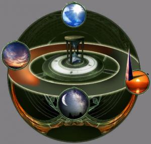 Meditations Uhr