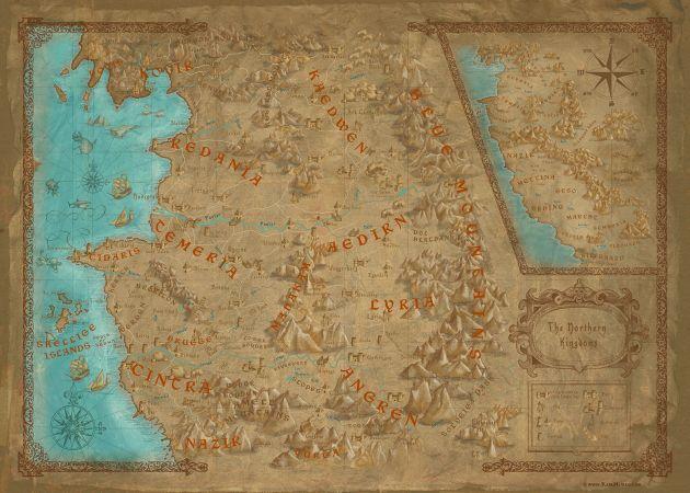 The Witcher Karte.Weltkarte Offizielles Hexer Wiki Charaktere Monster