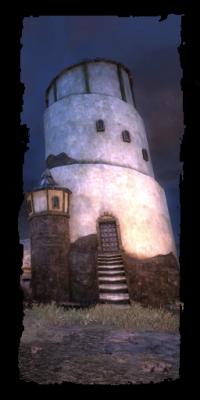 Abgelegener Turm