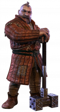 Zoltan Chivay in The Witcher 2: Assassins of Kings.