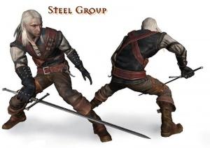 Gruppen Kampfstil Stahl