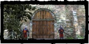 Tor nach Alt Vizima, Eingang Deich