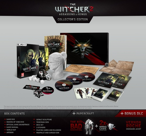 Inhalt der Collector's Edition