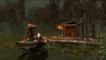 Geralt erreicht die Sümpfe