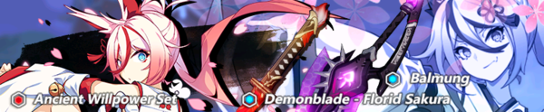 Florid Sakura, Balmung, and Higokumaru Focused Supply (Banner).png