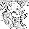 Sketch Troll Headhunter Portrait.png