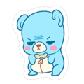 Grumpy Cuddle Bear Stitches Sticker Spray.png