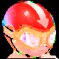Mini Captain Red Emblem
