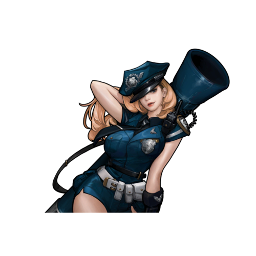 Riot Cop Skin