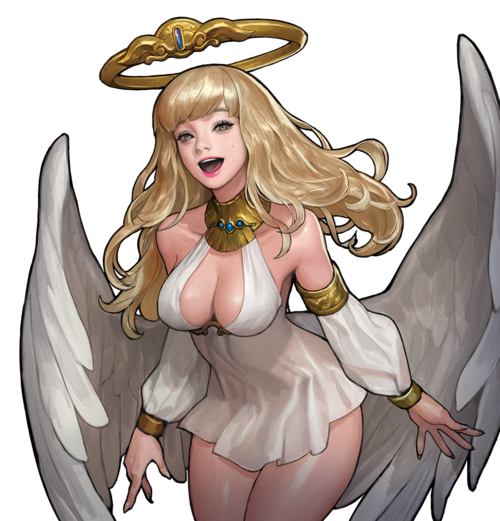 Lazy Angel Skin