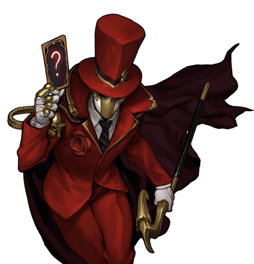 Red Rose Magician Skin