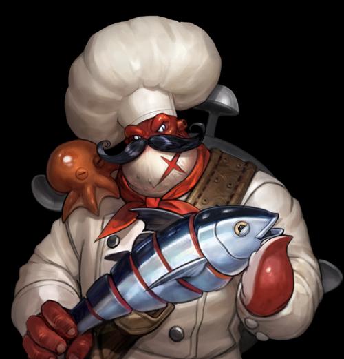 Pirate Cook Skin