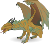 Monster Dragon AdultBronzeDragon.png